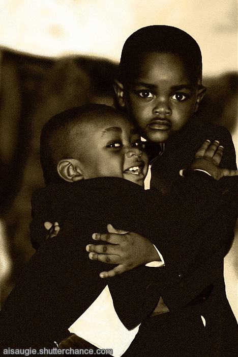 photoblog image Brotherly love