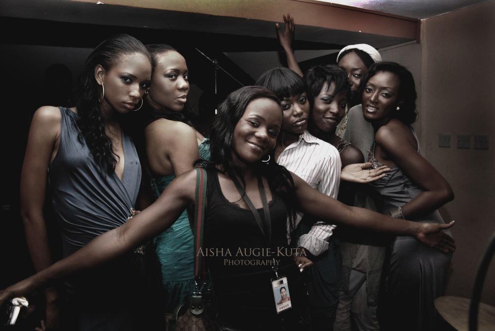 photoblog image Backstage pass: Models, Stylist and make-up artist
